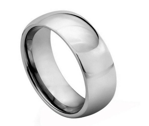 Polished Shiny Domed Ring